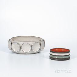 Two Pieces of KleinReid Studio Pottery