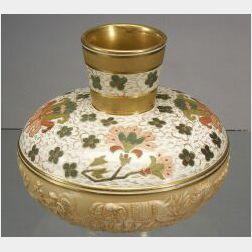 Wedgwood Molded Queen's Ware Vase