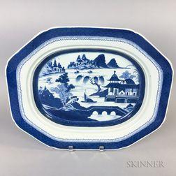 Canton Porcelain Platter