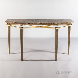 Leavitt-Weaver Crisscross Console Table