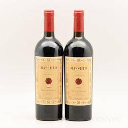 Tenuta dellOrnellaia Masseto 2003, 2 bottles