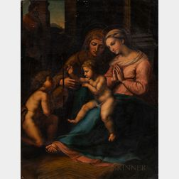 After Raphael (Italian, 1483-1520)      The Madonna of Divine Love