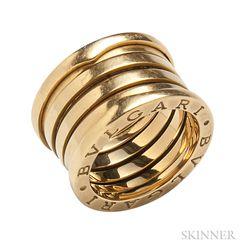 """18kt Gold """"B.zero1"""" Ring, Bulgari"""