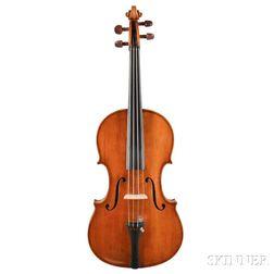 English Violin, John Joseph Reddall, Birmingham, 1895