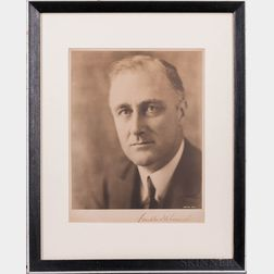 Roosevelt, Franklin Delano (1882-1945) Signed Photograph.
