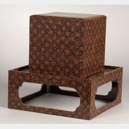 Lacquer Box and Stand