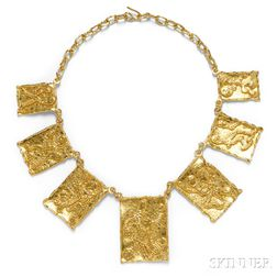 22kt Gold Necklace, Jean Mahie