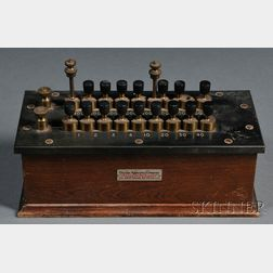 Chicago Apparatus Company Resistance Box
