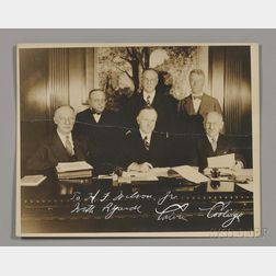 Coolidge, Calvin (1872-1933) Signed Photograph, 1929.