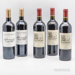 Mixed Bordeaux, 5 bottles