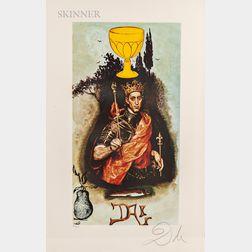 Salvador Dalí (Spanish, 1904-1989)      Lyle Stuart Tarot Prints