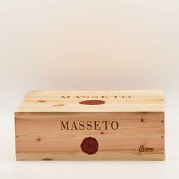 Tenuta dellOrnellaia Masseto 2009, 3 bottles (owc)