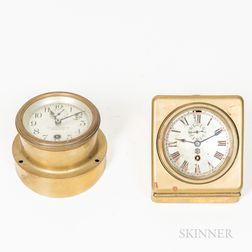 Chelsea and Cross Brass Automobile Clocks