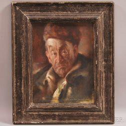 Alexander Robertson James (American, 1890-1946)      Selectman of Polecat