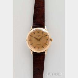 Longines 14kt Gold Man's Wristwatch