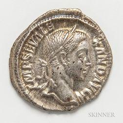 Roman Empire, Severus Alexander AR Denarius