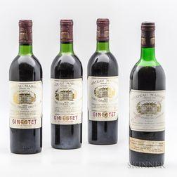 Chateau Margaux, 4 bottles