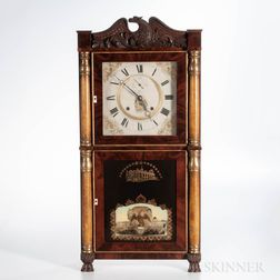 E. Terry and Sons Eight-day Shelf Clock