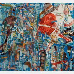 Robert S. Neuman (American, 1926-2015)      Fragmented City