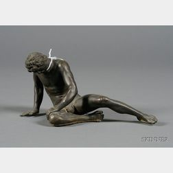 """Small Bronze """"Grand Tour"""" Figure of the Dying Gaul"""