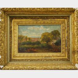 Sylvester Phelps Hodgdon (American, 1830-1906)      View of a Homestead.