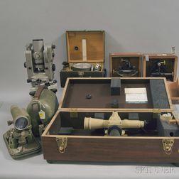 Group of Surveyor's Instruments