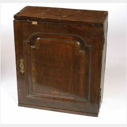 Jacobean Oak Table Cabinet