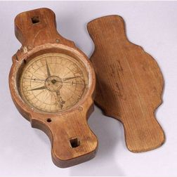 Walnut Surveyor's Compass