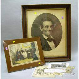 Group of Abraham Lincoln Related Items