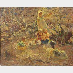 John Edward Costigan (American, 1888-1972)      The Picnic