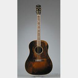 American Guitar, Gibson Incorporated, Kalamazoo, c. 1940,  Model Advanced Jumbo