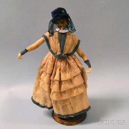 Lafitte-Desirat Wax Fashion Doll