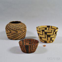 Four Southwest Baskets