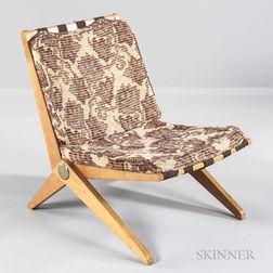 Pierre Jeanneret Scissor Lounge Chair