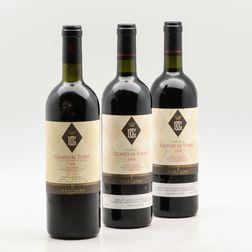 Antinori, 3 bottles