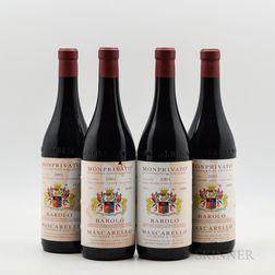 Giuseppe Mascarello Barolo Monprivato 2001, 4 bottles