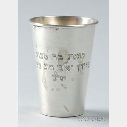 Polish Silver Kiddush Cup