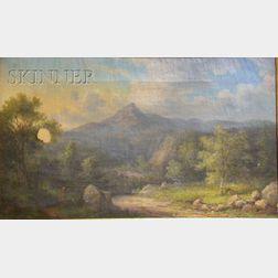 John White Allen Scott  (1815 - 1907)      Mount Chocorua