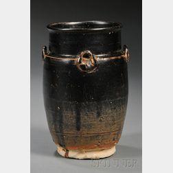 Henan Black Glazed Jar