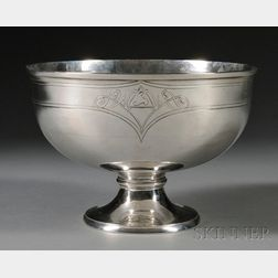 Arthur Stone Sterling Silver Footed Bowl