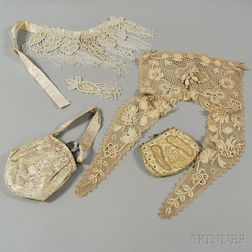 Group of Assorted Antique Lady's Fashion Accessories