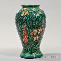 Large Moorcroft Floral-decorated Vase