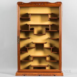 Asian-style Wall Display Cabinet