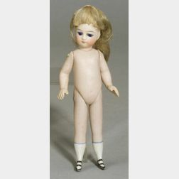 French-type All Bisque Doll
