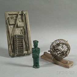 May Wilson (American, 1905-1986)      Three Found Object Assemblages:   York