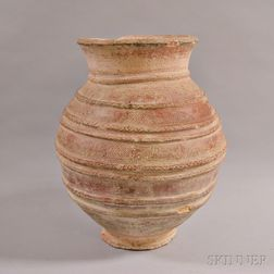 Large Earthenware Jar