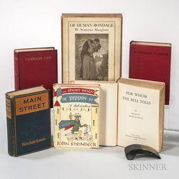 Literature, 20th Century, Six Titles.