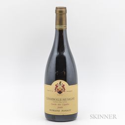 Ponsot Chambolle Musigny Cuvee de Cigale 2009, 1 bottle