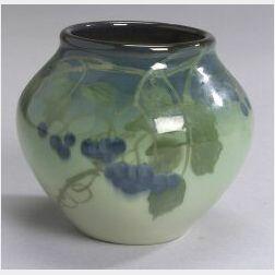 Rookwood Pottery Iris Glaze Vase