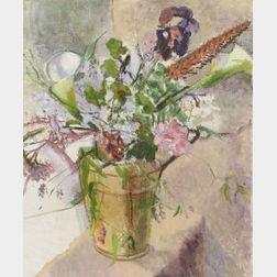 Edmund Quincy (American, 1903-1997)  Floral Still Life